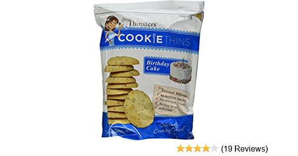 Mrs Thinsters Cookie Thins BIRTHDAY CAKE 16 Oz Pack Of 2 Amazon Grocery Gourmet Food