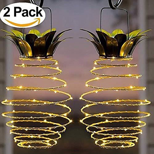 Lampe Solaire LED Ananas Jardin Éclairage Imperméable Décoration ...