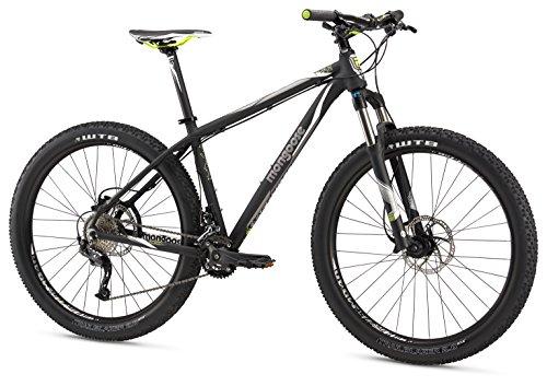 Mongoose Men's Tyax SUPA Sport 27.5+ Wheel, Black, 19.5 inch/Large (Zoom Brake 160)