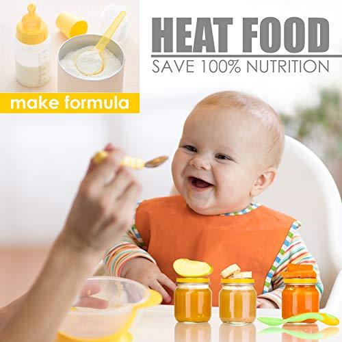 Bottle Warmer Bottle Food Warmer LCD - Bottle Portable The Go Warmer