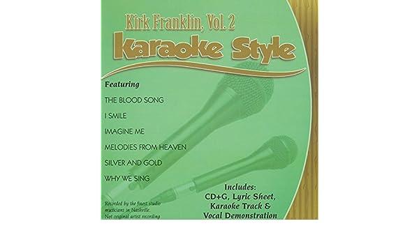 Daywind Karaoke Style CDG #4322 - Kirk Franklin Vol  2
