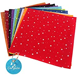 Printed Stars Dots Pattern