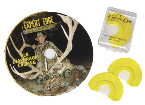 Hunters Specialties Carlton's Calls Expert Edge Elk DVD & Calls Combo