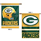 Green Bay Packers 2-sided Banner Flag