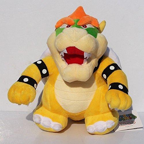 NEW NWT Build a Bear Super Mario Bowser Plush RARE IN HAND STUFFED AND READY
