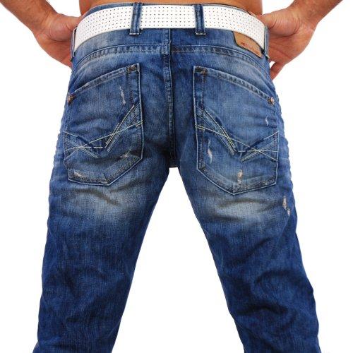 Redbridge Herren Jeans Hose RB-181 Blau