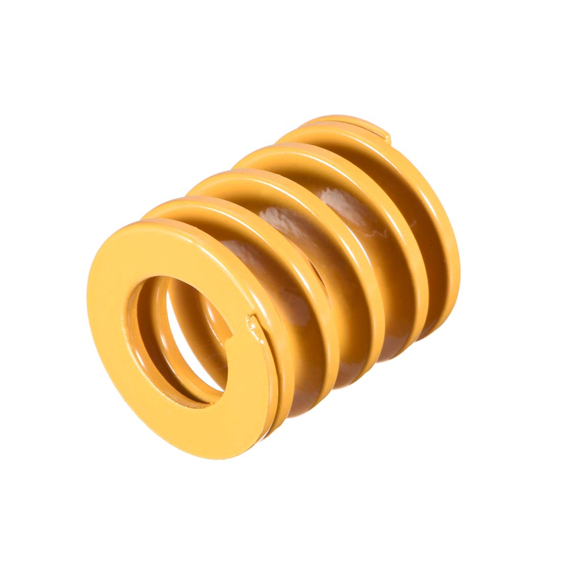 sourcing map 10mm OD 35mm Long Spiral Stamping Extra Heavy Load Compression Mould Die Spring Brown 2Pcs
