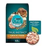 Purina ONE True Instinct Grain Free Natural Dry Cat Food; Chicken Formula - 6.53 kg bag