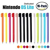 15 Pack Nintendo DS Lite Plastic Replacement Touch Screen Stylus Pen by FENGWANGLI
