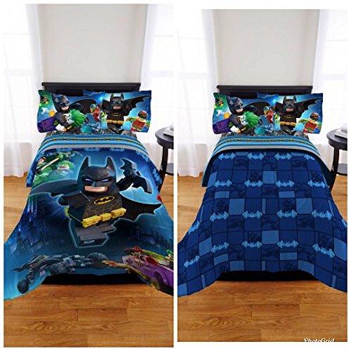 Batman Kids Lego Twin/Full Bedding Reversible Comforter