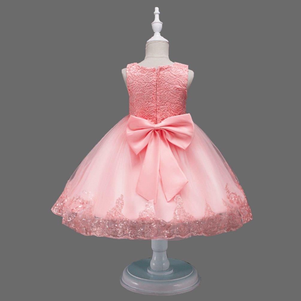 YuanDian YuanDian Mädchen Kinder Festkleider Partykleider Blumen ...