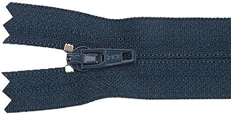 American & Efird 709-560 Pants Zipper, 9-Inch, Navy