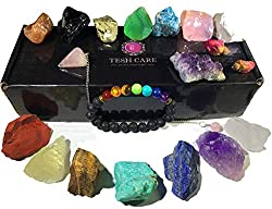 17 pcs healing crystal kit