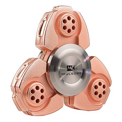 MULGORE Fidget Spinner Crusader Spinner Hot Explosion 2017 Hand Spinner Toys Russia CKF Aluminum Alloy (pink)