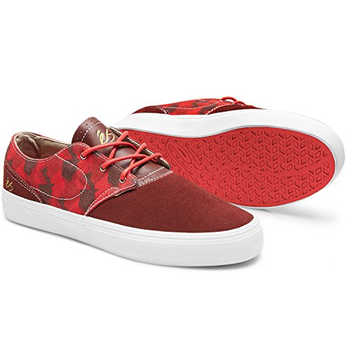 Es Skateboard Shoes ACCENT Red Sz 11.5