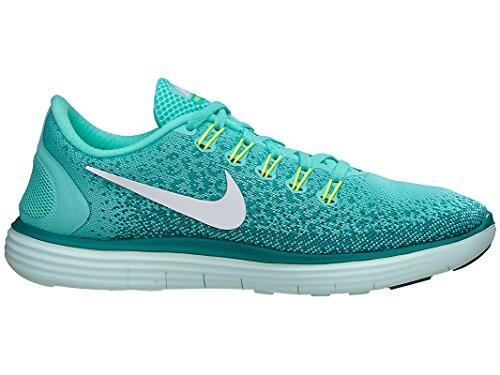 Nike Wmns Free RN Distance, Chaussures de Running Entrainement Femme Hyper Turq/White-Hyper Jade