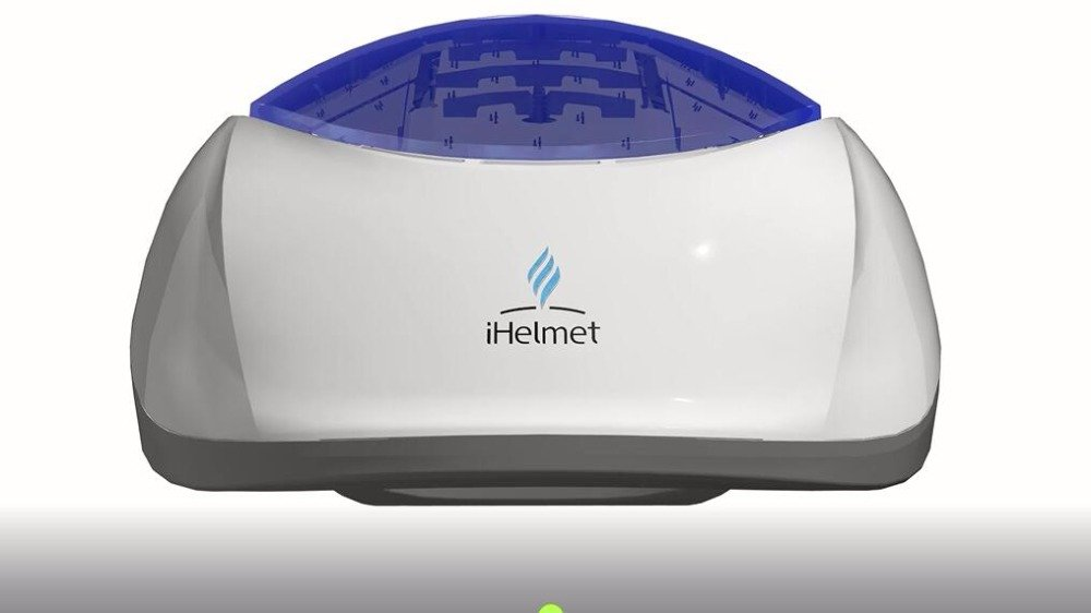 iHelmet LTD200S 7-zone 200-diode Laser Hair Regrowth Therapy; FDA Cleared Hair Loss Treatment for Men and Women