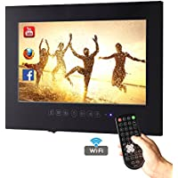 Soulaca 22inch Android Smart Waterproof Black Bathroom TV T220FA-B