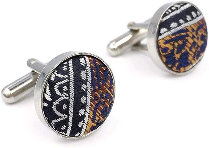 S&W SHLAX&WING Azul Plateado Corbatas Para Hombre Cachemir Classic ...