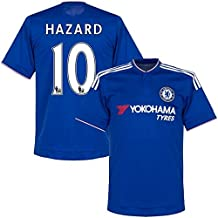 Chelsea Hazard #10 Home Soccer Jersey Kit With Shorts Kids Sizes YOUTH S M L