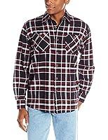 Wrangler Authentics Mens Long-Sleeve Flannel Shirt