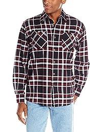 Authentics Men's Long Sleeve Flannel Shirt