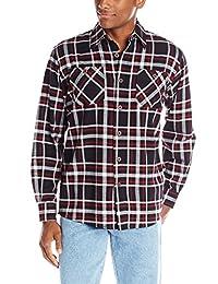 Wrangler Men's Authentics Long-Sleeve Flannel Shirt