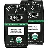 The Bean Coffee Company Holiday Bean Coffee (Vanilla Cinnamon Spice), Organic Whole Bean, 16-Ounce Bags (Pack of 2)