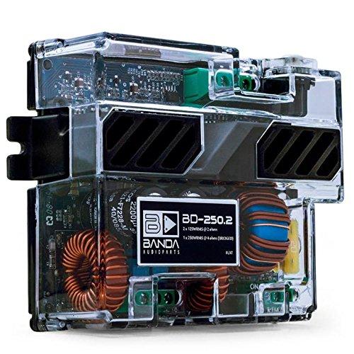 Módulo Amplificador 125w Rms 2 Ohms Bd 250.2 Banda Audioparts