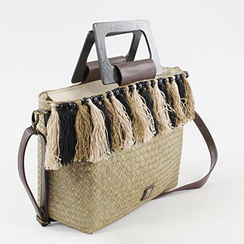 Top EFERRI Women's Bolso Natural Bluebags Bag Natural Beige City Gipsy Nature Handle 6xqYYOd0