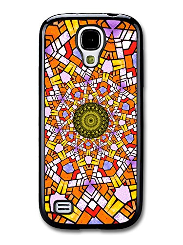 Cool Psychedelic Colourful Kaleidoscope Shapes coque pour Samsung Galaxy S4 mini