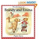 The Adventures of Brandy and Emma: A 2 in 1 Coloring and Story Book