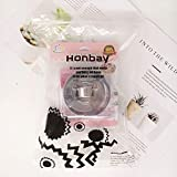 Honbay 2 Set Stainless Steel Cooking Rings Round