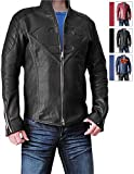 Super Black Jacket for Man (XL, Black)