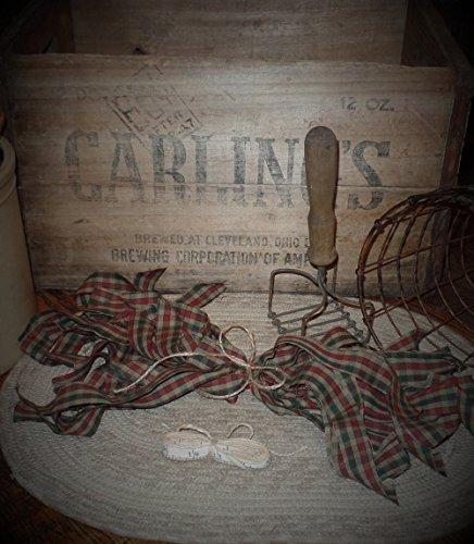 trips~Cinnamon~Vanilla Scented Hang Tag~Christmas Check Collection~1
