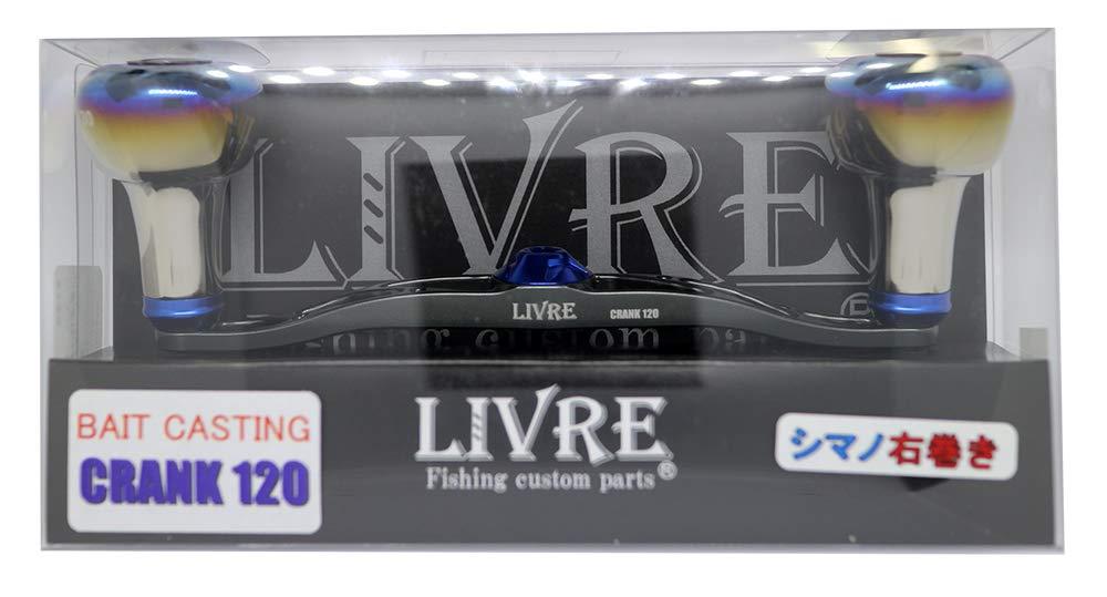リブレ(LIVRE) リール 2658 フルコンプ クランク120 EF30 右 シマノ GMB   B07N4J7TPW