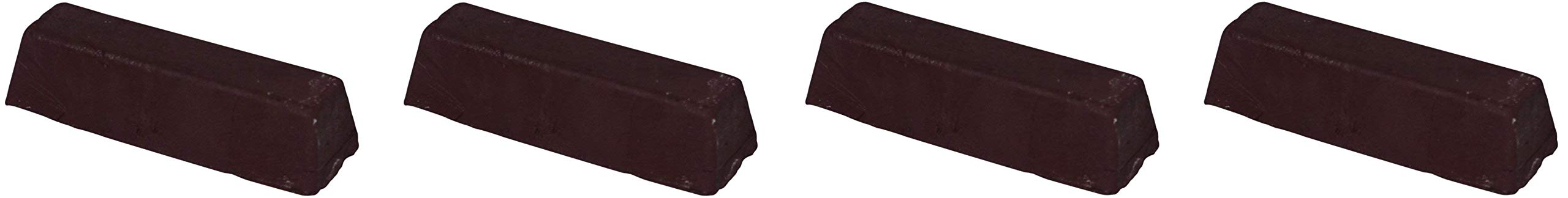 JacksonLea 47351SP Brown Buffing Compound, Grande Bar, 2'' Width x 2'' Height x 9'' Length (Fоur Расk)