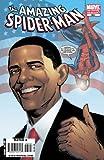 Marvel Comic Book - The Amazing Spider-Man #583 (w/ Barack Obama) 3rd Printing