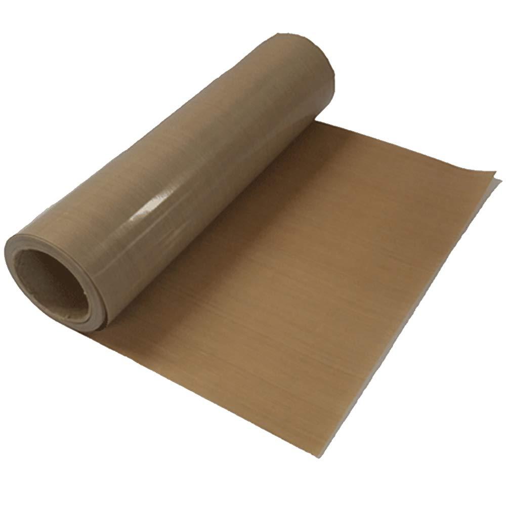 39'' x 5 Yard Teflon Sheet PTFE Teflon Fabric Sheet Roll Sublimation Heat Resistant Teflon Roll for Heat Press Transfer, 5Mil Thickness - US Stock