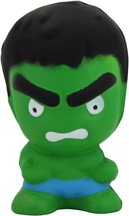 Superhero squishy jumbo Ironman Hulk Spiderman Captain America Scented Kid Toy