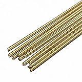 10pcs/lot Welding Solder Rods 250mmx1.6mm Gold