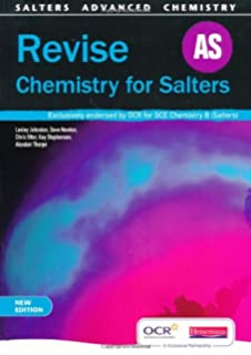 Revise a2 chemistry for salters ocr a level chemistry b amazon revise as chemistry for salters new edition fandeluxe Image collections