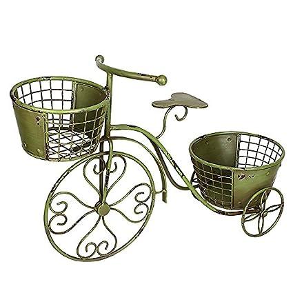 Amazon.com: Triciclo soporte de planta maceta de flores ...