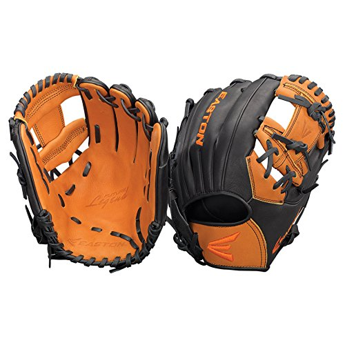 Easton Future Legend Series FL1100BKTN Left Hand Throw 11 in Youth Infield Pattern