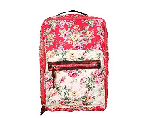 harp - Bolso mochila para mujer rojo