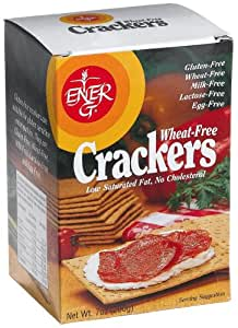 Ener-G Foods Wheat-Free Crackers, 7-Ounce Boxes (Pack of 6)