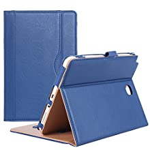 ProCase Galaxy Tab A 8.0 Case (2015 Old Model) - Standing Cover Folio Case for 2015 Galaxy Tab A Tablet (8.0 inch, SM-T350 P350) - Navy