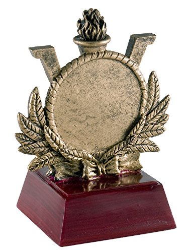 Olympic Wreath Sculptured Trophy   Customize Now   Personalized Engraved Plate Included   Attached To Award   Perfect Olympic Award Trophy   Decade Awards