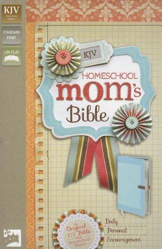KJV, Homeschool Mom's Bible, Imitation Leather, Blue