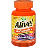 Natures Way B-Complex – Alive – Gummies – 60 Count Review
